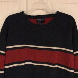 American Eagle Outfitters Striped Sweater Size XL